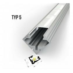 Alu profil za LED trake - TIP 5 (19191)