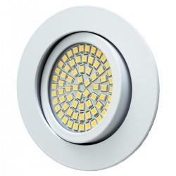 LED ugradna svjetilka - 3,5W 230V 350lm 3200K topla bijela