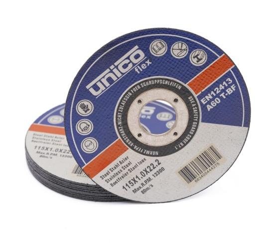 50x Rezna ploča UNICO 115 x 1.0 x 22