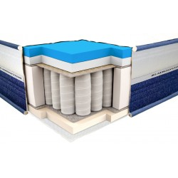 Madrac Spring Mattress Viscogel Spring Comfort 3D 80x190