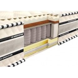 Madrac Spring Mattress 3D Magnat Memory-Latex-Cocos 200x200