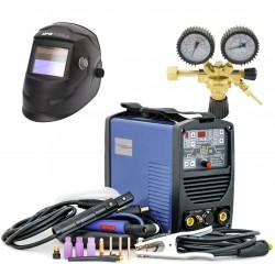 KOMPLET - Inverterski aparat za zavarivanje TIG160PD + ventil + maska