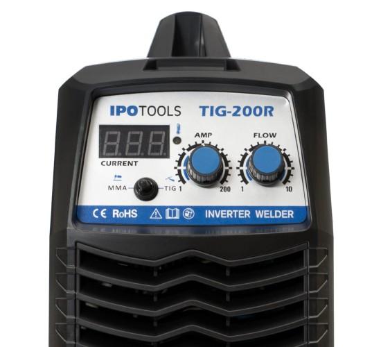 KOMPLET - Aparat za zavarivanje TIG200R + Maska J500A + magnet IPO1-XS