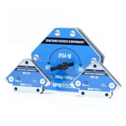 Set magnetnih kutnika za zavarivanje XS + 4M