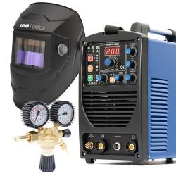 Komplet Inverterski aparat za zavarivanje ACDCTIG 200P + maska + ventil